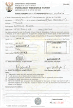Ayslum seeker / refugee can now apply for temporary residence visa.